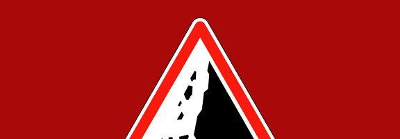 Danger éboulement