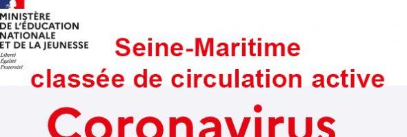 La Seine Maritime passe au rouge