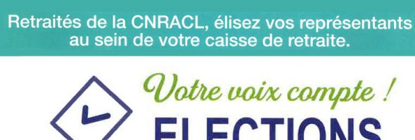 Elections CNRACL