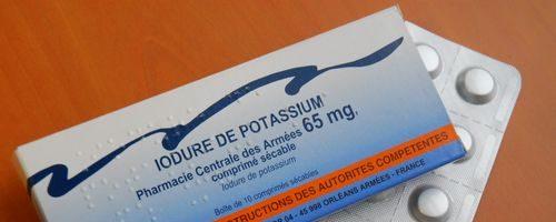 Campagne de distribution d'iode stable