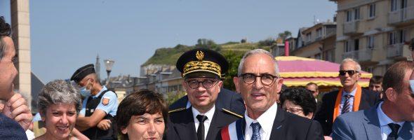 Visite officielle d'Annick Girardin, Ministre de la Mer